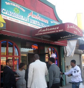 Haitian Ambiance on the Brooklyn Border